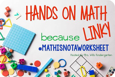 http://www.mrswillskindergarten.com/2016/04/hands-on-math-linky.html