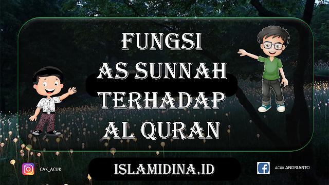Fungsi-Dan-Kedudukan-As-Sunnah-Terhadap-AlQuran