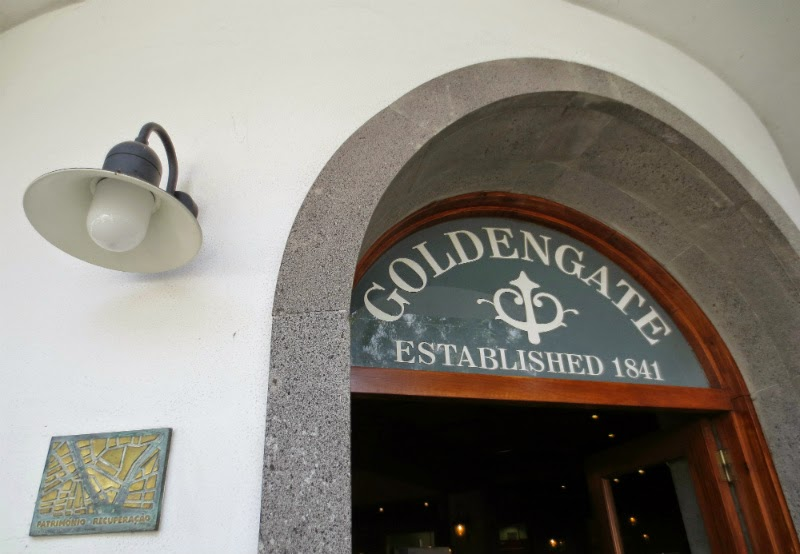Golden Gate a restaurant with history recovered but now closed