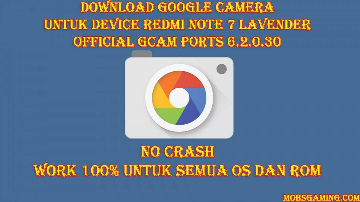 Google Camera Official Apk Redmi Note 7