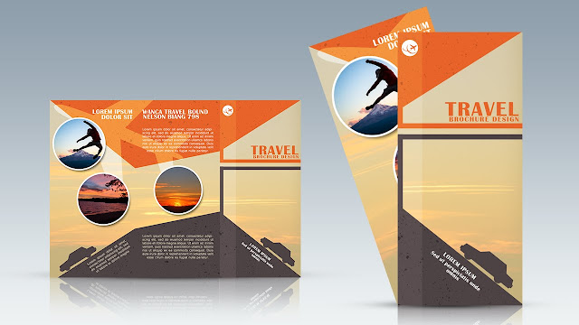 mẫu brochure