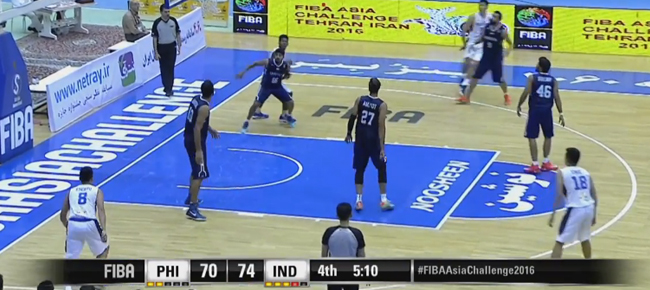 HIGHLIGHTS: Gilas Pilipinas vs. India (VIDEO) 2016 FIBA Asia Challenge