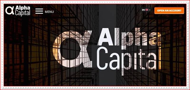 Мошеннический сайт alphacapital.capital – Отзывы? Компания Alpha Capital мошенники! Информация
