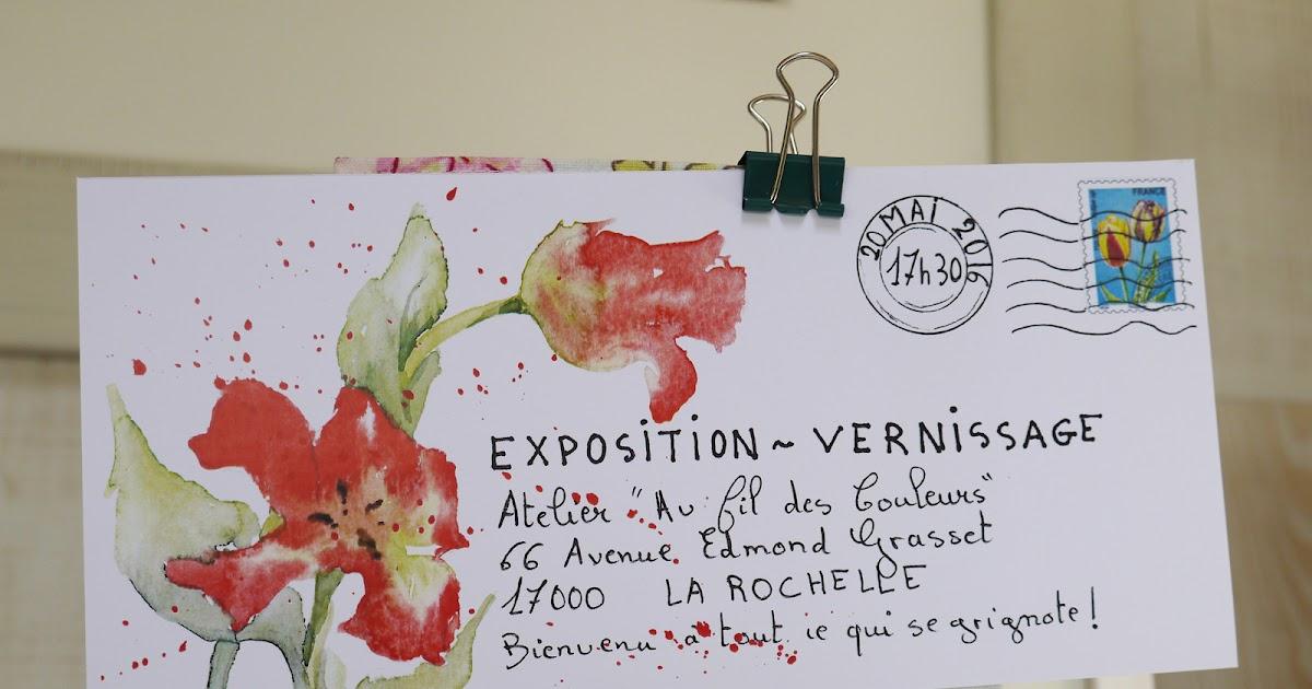 Atelier d 39 art au fil des couleurs exposition vernissage - Au fil des couleurs ...
