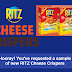 Free Ritz Cheese Crispers Samples