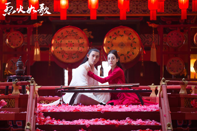 The Flame's Daughter Dilireba Vic Chou