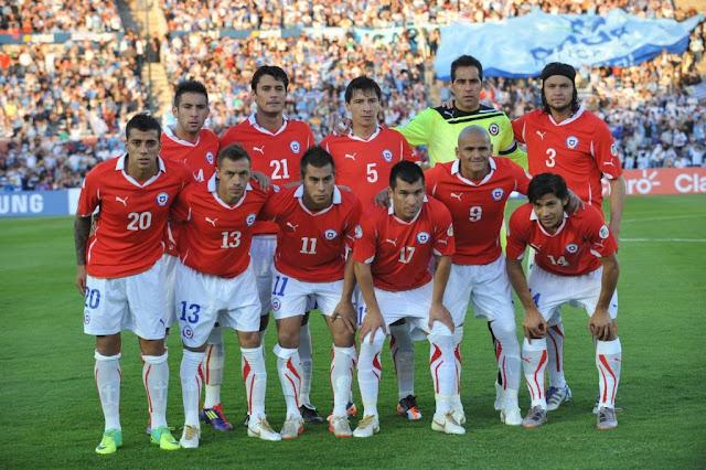 Formación de Chile ante Uruguay, Clasificatorias Brasil 2014, 11 de noviembre de 2011