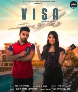 Visa - Resham Singh Anmol | Lyrics and Full Music Video