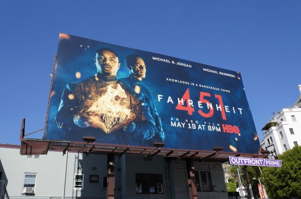 Fahrenheit 451 HBO movie billboard