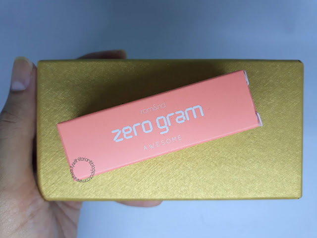 [REVIEW] ROMAND (rom&nd) Zero Gram Matt Lipstick Shade Awesome