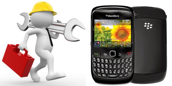 Cara Flashing Blackberry Gemini Curve 8520 via PC