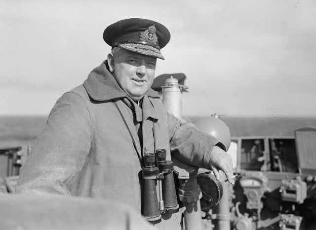 Rear Admiral S S Bonham Carter, 3 or 4 April 1942 worldwartwo.filminspector.com
