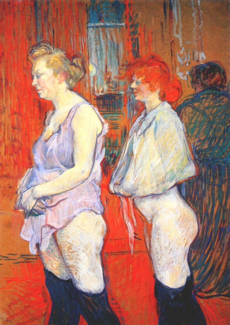 prostituyen prostitutas pintura