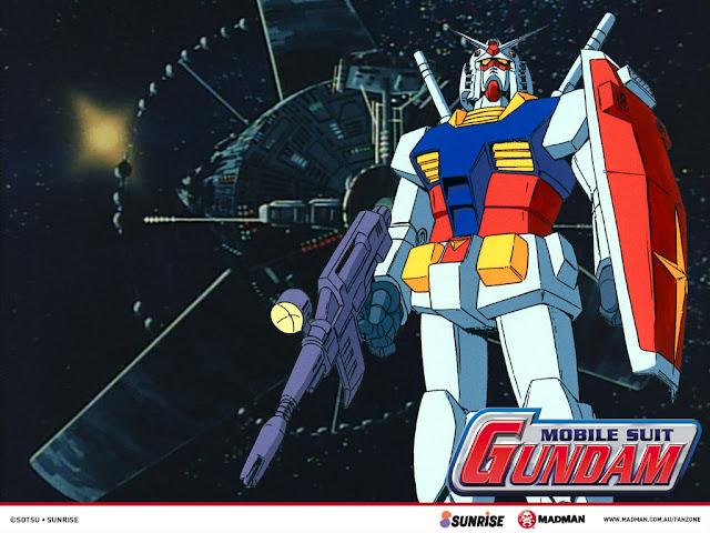 Poster de la francia Gundam