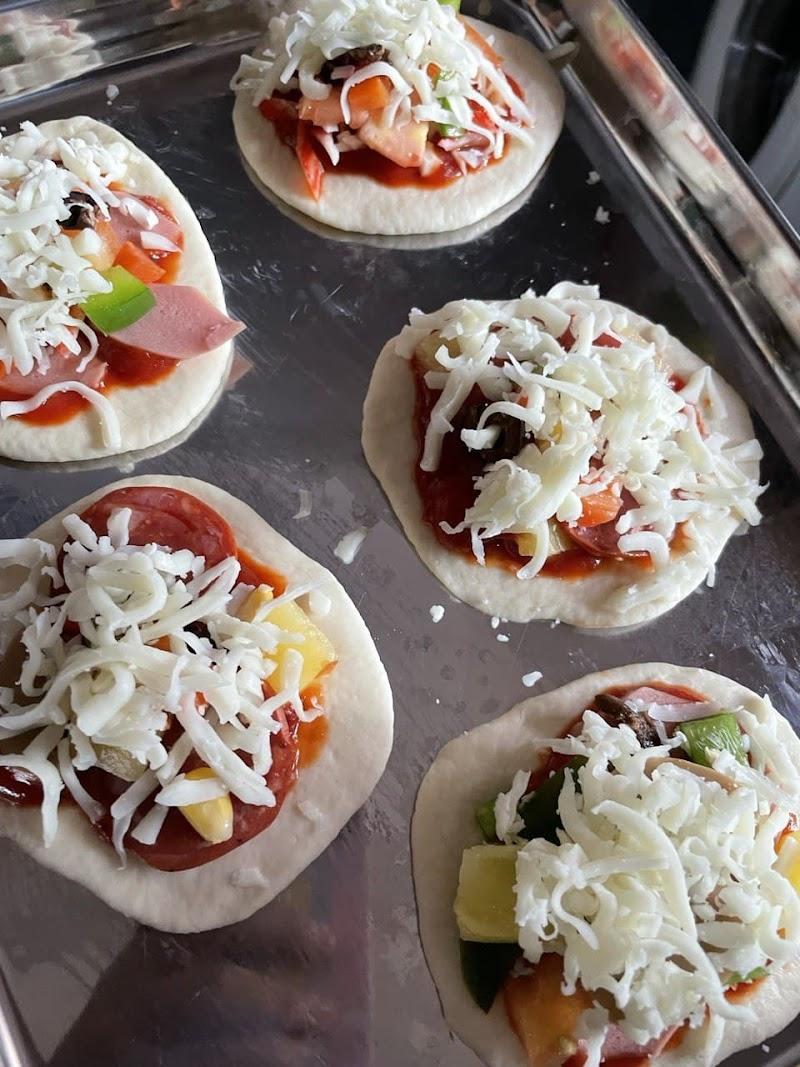 Pizza Gebu Lazat Sedap Mudah dengan menggunakan TM6 | Muzlina.com |