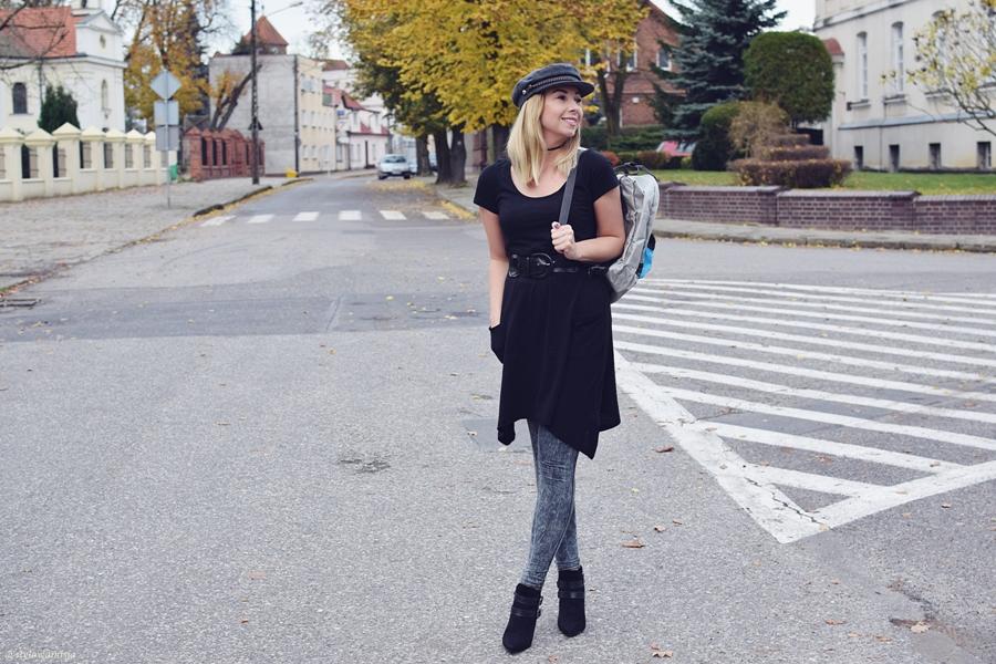 moda, stylizacja, botki, Butik, płaszczyk, rosegal, plecak, szaleo, tunika, bonprix.pl, czapka, jesień,