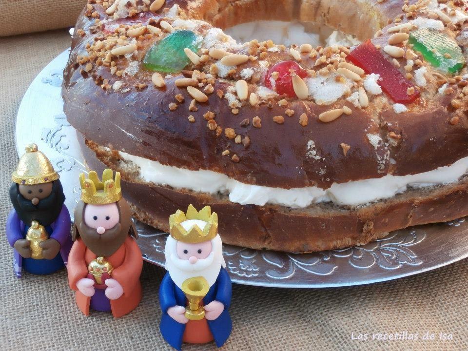 Las recetillas de isa roscones de reyes - Roscones de reyes ...