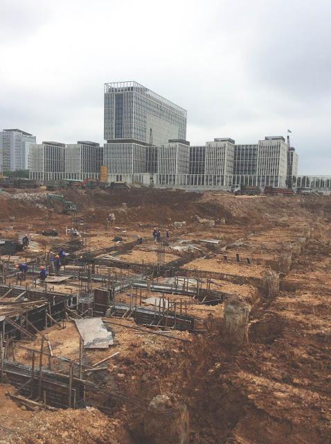 Tiến độ thi công xây dựng An Bình City