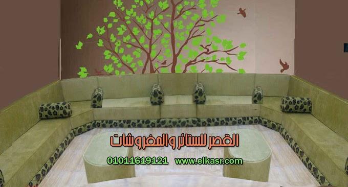 قعدة عربي / مجلس عربي تحته صندوق خشبي 3