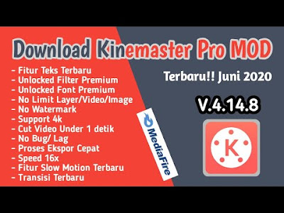 Download Kinemaster Pro Mod Versi 4.14.8