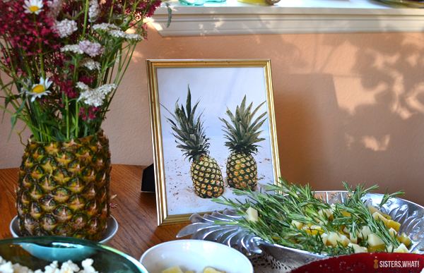 pineapple themed bridal shower