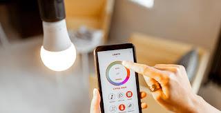 lampu pintar - smart home