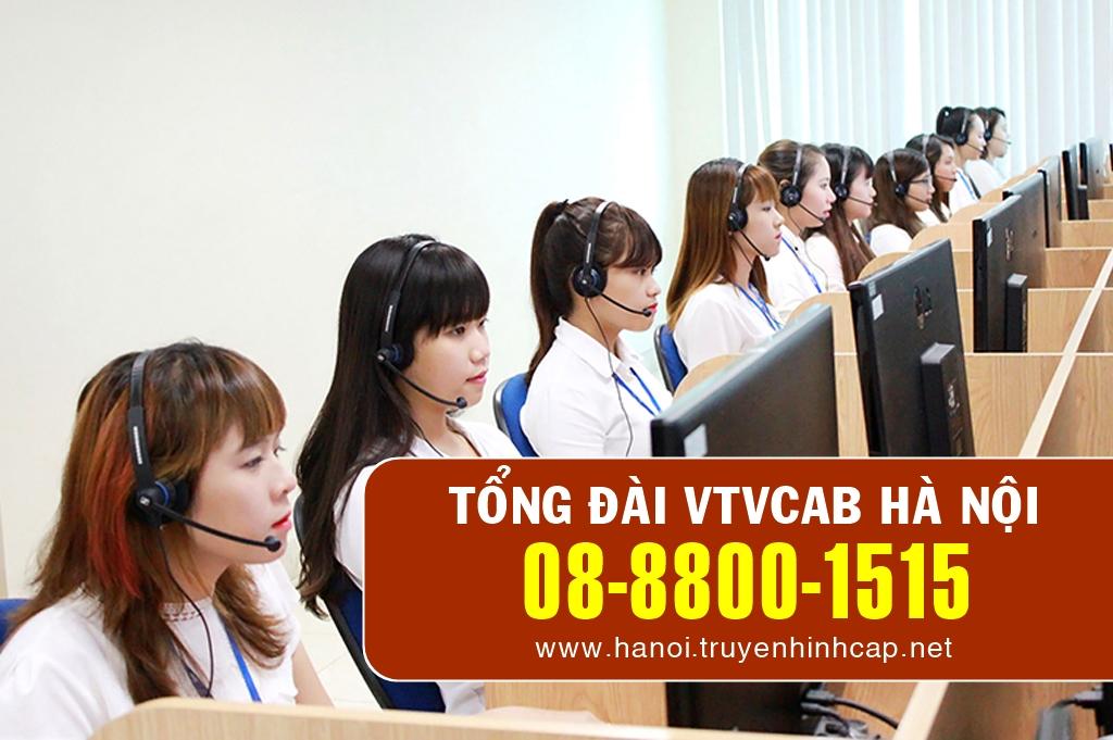 Số điện thoại tổng đài VTVcab ở Hà Nội