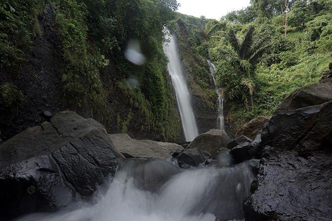 Air Terjun Songgo Langit di Jepara