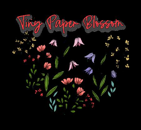 Tiny Paper Blossom