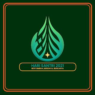 gambar poster ucapan hari santri 2021 - kanalmu