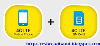 Digi device & SIM is Digi 4G LTE compatible