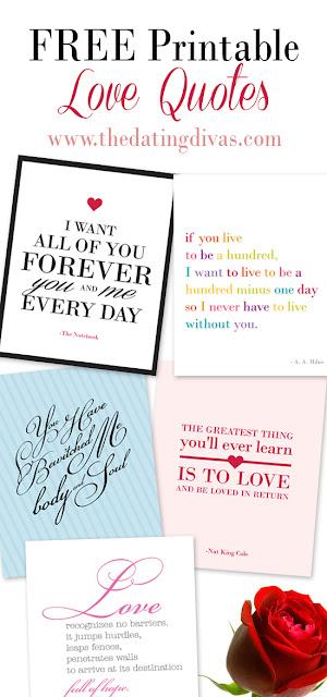 Frases de Amor para Imprimir Gratis.