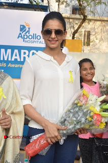 Actress Rakul Preet Singh at Endometriosis Awareness Walk at Apollo Cradle  0052.jpg