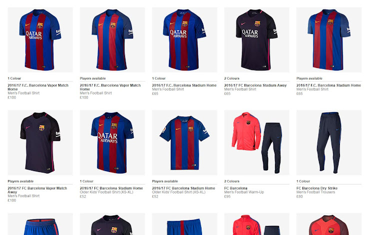 Barcelona Qatar Airways Kits Now Available - Footy Headlines 8bce9f44c