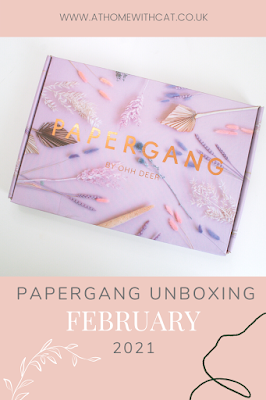 Pinterest Graphic - Papergang Unboxing February 2021