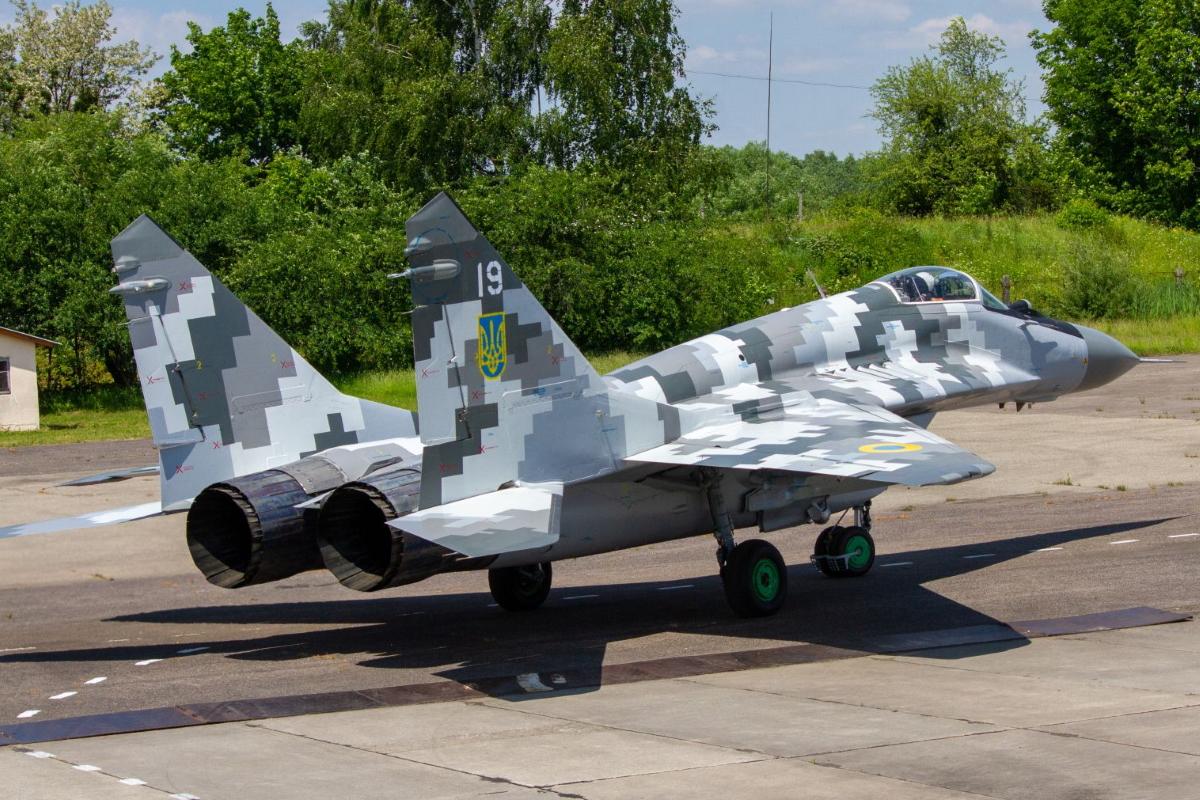 ЛДАРЗ передав ЗСУ модернізований винищувач МіГ-29МУ1
