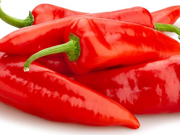 red pepper- healthy food to eat