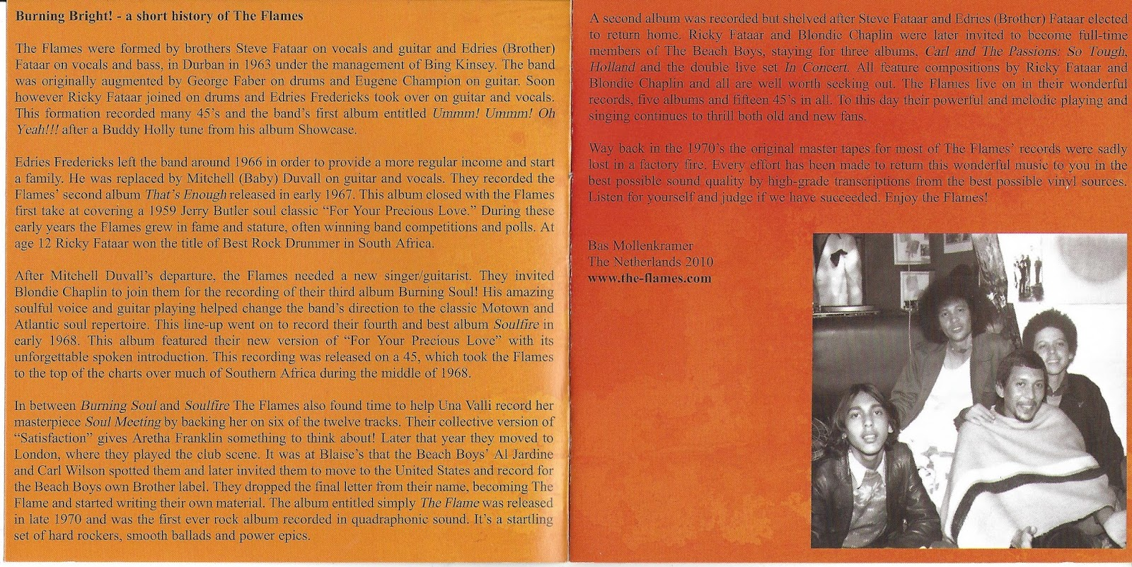 Orange pop records s profile hear the world s sounds - These Two Albums Are Before The Flame And The Sound Is More In A Pop Soul Direction If You Hear The Albums Of The Flames From The Middle Of The