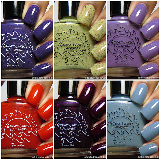 great lakes lacquer the sunset dissected collection