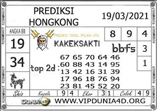 Prediksi Togel HONGKONG DUNIA4D 19 MARET 2021