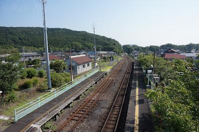 明覚駅高崎側の景色
