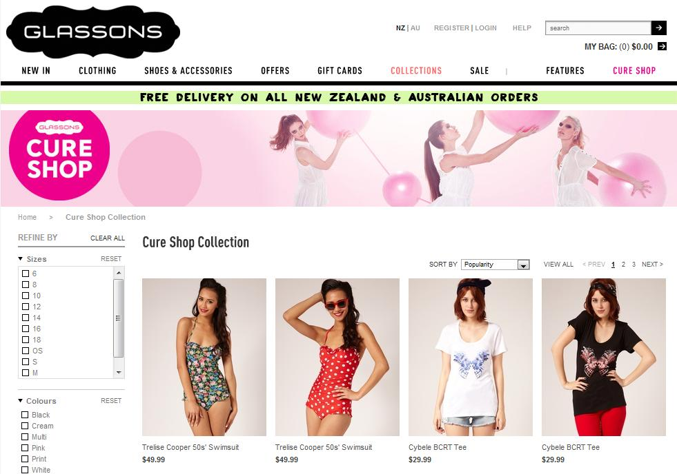 The Envy Collection: Shopping for a good cause: Glassons ...