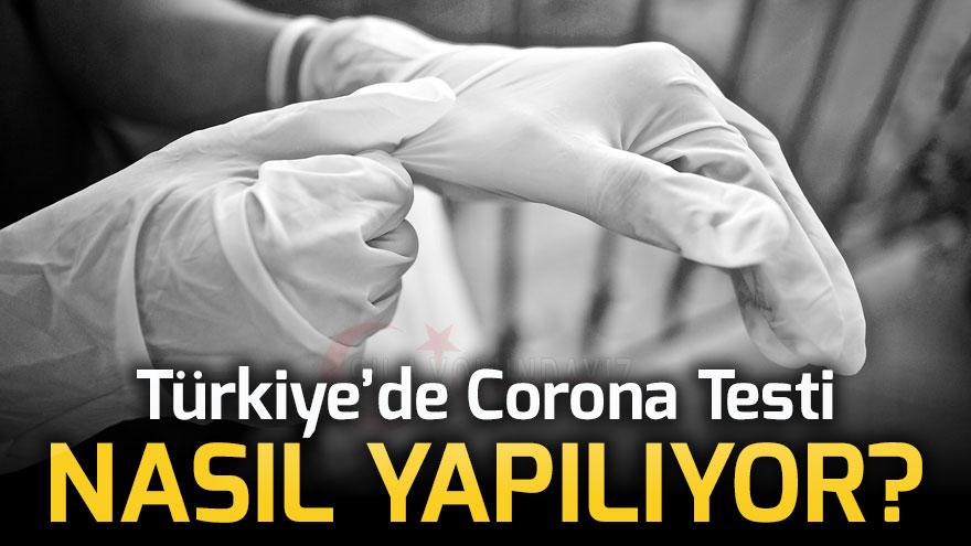 Türkiye'de Corona Testi Nasıl Yapılıyor Ücreti kac para