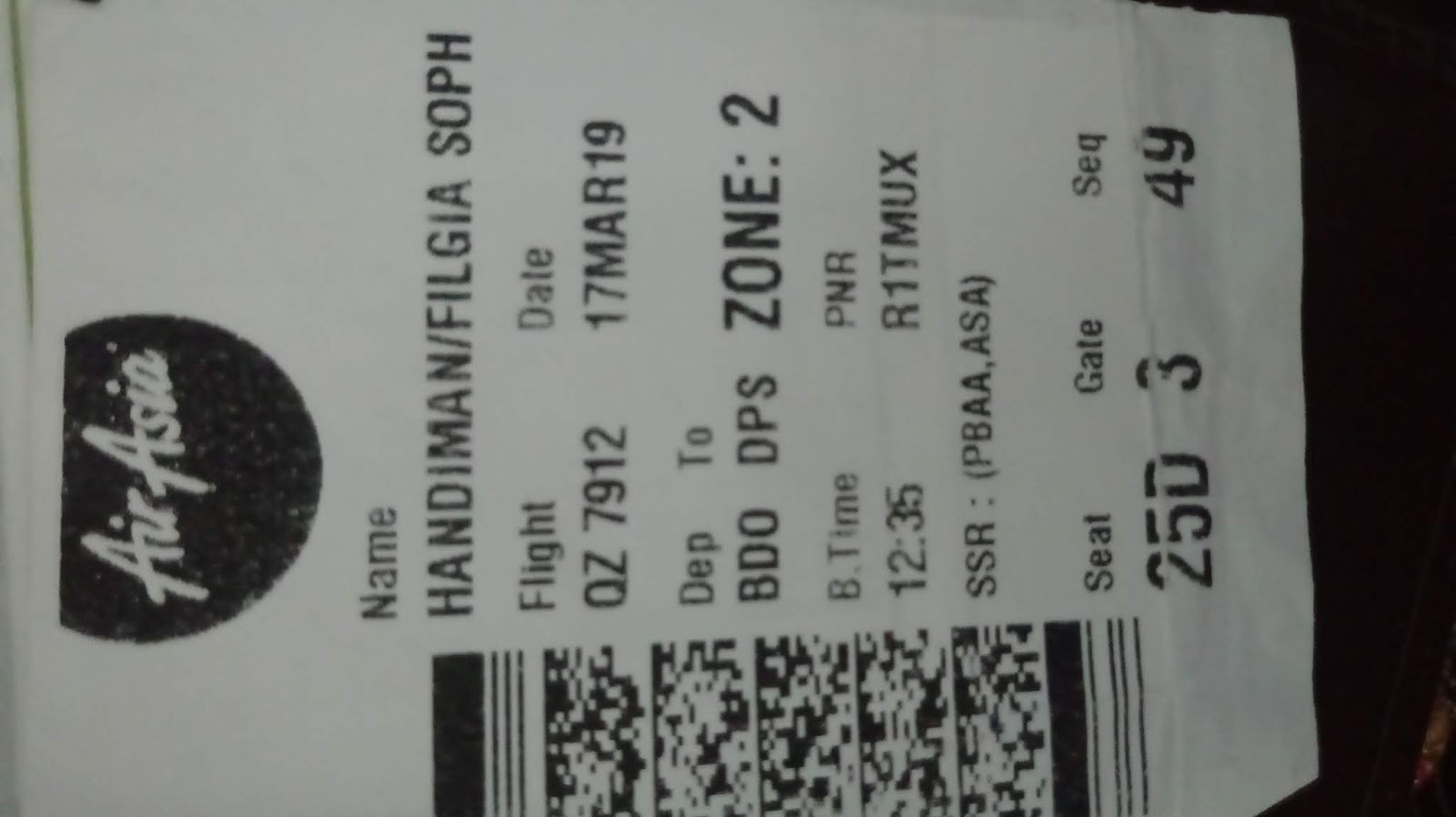 20190322 175705 - Jenis Font Boarding Pass Lion Air