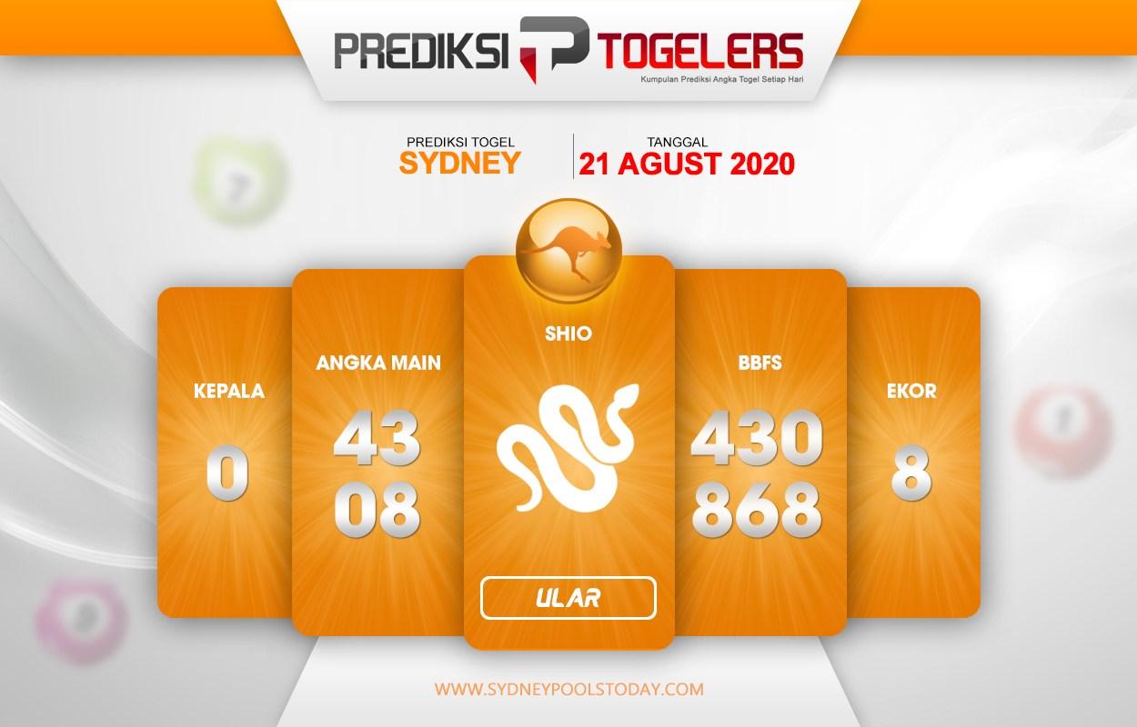 Syair Sidney Hari Ini Ini Jumat 21-08-2020 - Syair SGP