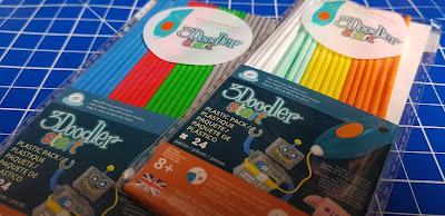 3Doodler Start 3D eco plastic filaments refills