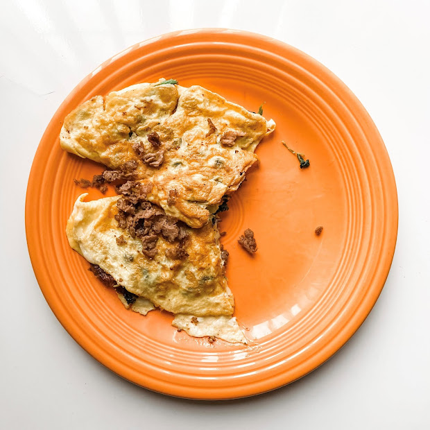 Quick and Easy Steak Omelet Recipe