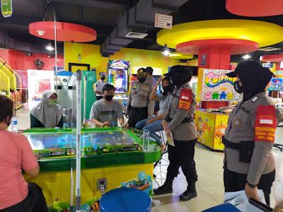Satgas Aman Nusa II Pencegahan Covid-19 Dan Subsatgas Binmas Polda Jambi Berikan Himbauan Untuk Masyarakat