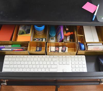 New Gold Desk Organizer