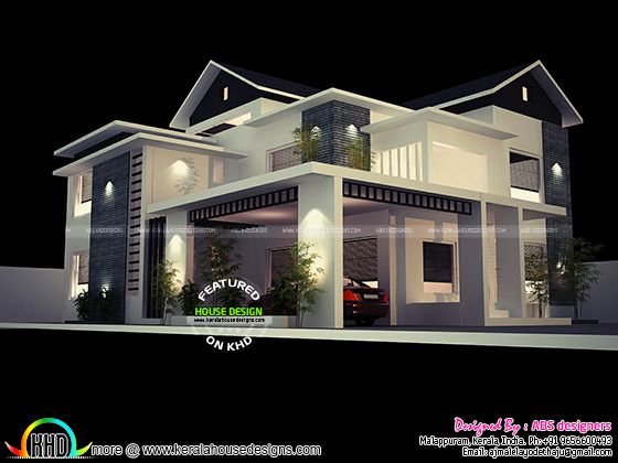 Modern house plan by ABS designers